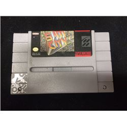 SUPER NINTENDO SIM CITY VIDEO GAME