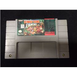 SUPER NINTENDO DONKEY KONG COUNTRY VIDEO GAME