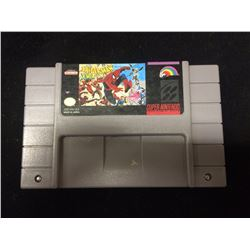 SUPER NINTENDO SPIDERAN X-MEN ARCADES REVENGE VIDEO GAME