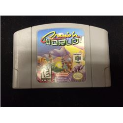 NINTENDO CRUIS'N WORLD VIDEO GAME