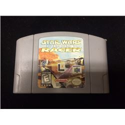 NINTENDO STAR WARS RACER EPISODE ONE VIDEO GAME