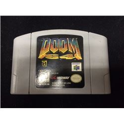 NINTENDO DOOM 64 VIDEO GAME