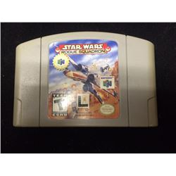 NINTENDO STAR WARS ROGUE SQUADRON VIDEO GAME