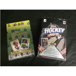 NHL SEALED BOXES OF HOCKEY CARDS