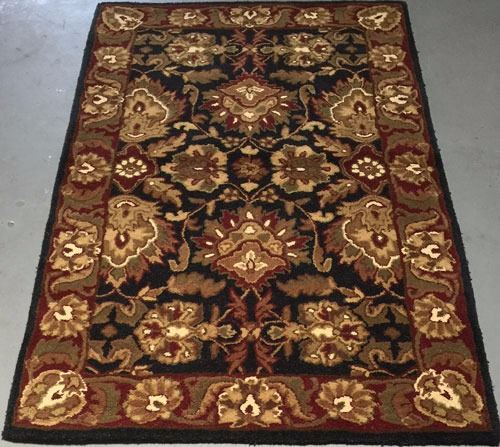 100 Wool Pile Hand Tufted Indian Area Rug