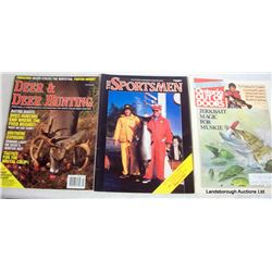 BOX LOT OUTDOORS MAGAZINES