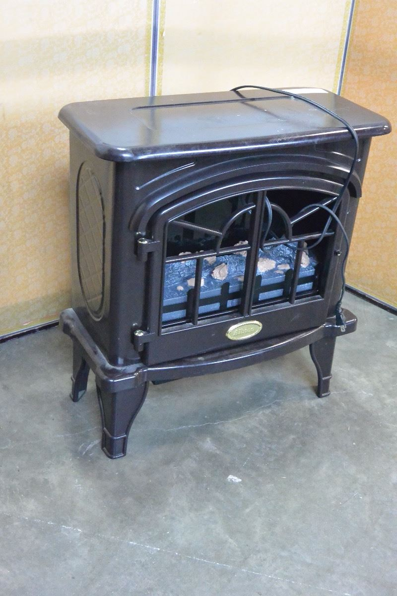 ALBION ELECTRIC FIREPLACE - Big Valley Auction