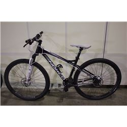 BLACK NORCO CHARGER 27 SPEED FRONT SUSPENSION MOUNTAIN BIKE WITH FULL DISC BRAKES