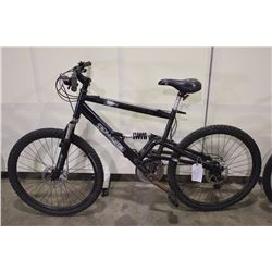 BLACK IRONHORSE OUTLAW 21 SPEED FULL SUSPENSION MOUNTAIN BIKE