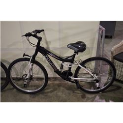 GREY IRONHORSE LEGIT 21 SPEED FULL SUSPENSION MOUNTAIN BIKE