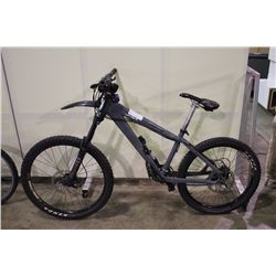 GREY NORCO MANIK 24 SPEED FRONT SUSPENSION MOUNTAIN BIKE WITH FULL DISC BRAKES