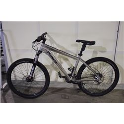 GREY SPECIALIZED HARDROCK 27 SPEED FRONT SUSPENSION MOUNTAIN BIKE WITH FULL DISC BRAKES