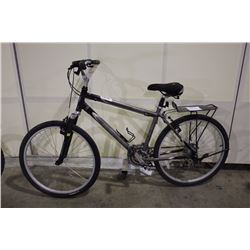 GREY NORCO PLATEAU 21 SPEED FRONT SUSPENSION MOUNTAIN BIKE
