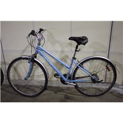 BLUE CCM AVENUE 18 SPEED FRONT SUSPENSION MOUNTAIN BIKE