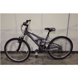 GREY NORCO 18 SPEED FRONT SUSPENSION MOUNTAIN BIKE