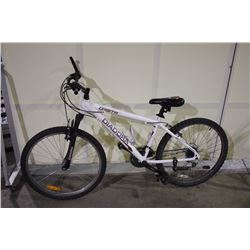 WHITE DIADORA ORBITA 18 SPEED FRONT SUSPENSION MOUNTAIN BIKE
