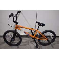 ORANGE GENERAL LEE SINGLE SPEED BMX BIKE