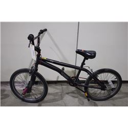 BLACK SIMS EVIL SINGLE SPEED BMX BIKE
