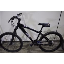 BLACK IRONHORSE 20 FR 24 SPEED FRONT SUSPENSION MOUNTAIN BIKE