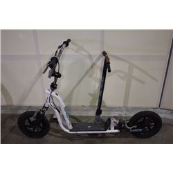 OSL FULL SUSPENSION SCOOTER & GREY NO NAME SCOOTER