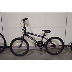2 BIKES: BLACK PACIFIC BMX BIKE & GREY GRAVITY BMX BIKE