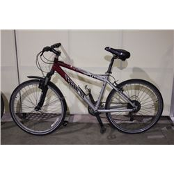 GREY HARO 21 SPEED FRONT SUSPENSION HYBRID BIKE