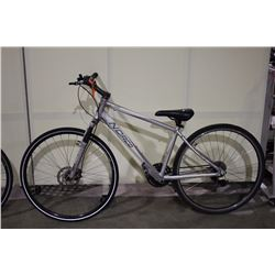 WHITE NORCO VFR 24 SPEED FRONT SUSPENSION HYBRID BIKE WITH FRONT DICS BRAKES