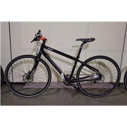BLACK NORCO INDIE 16 SPEED ROAD BIKE WITH FULL DISC BRAKES