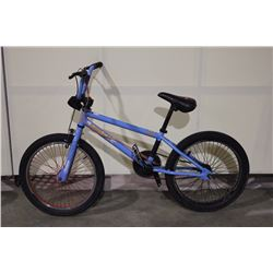 BLUE DIAMONDBACK SINGLE SPEED STUNT BIKE