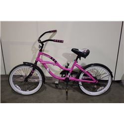 PINK HELLO KITTY KIDS CRUISER BIKE