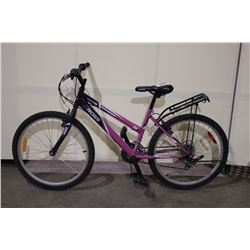PINK ROSS 18 SPEED MOUNTAIN BIKE