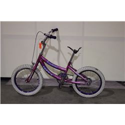 2 BIKES: PINK HUFFY KIDS BIKE & PINK SUPERCYCLE KIDS BIKE