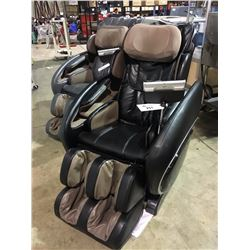 OSAKI OS-4000 BLACK LEATHER ZERO GRAVITY HEATED RECLINING MASSAGE CHAIR