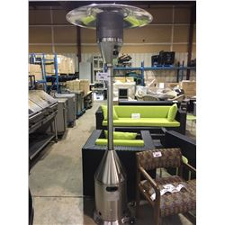 PARAMOUNT CONE STYLE STAINLESS STEEL OUTDOOR PATIO HEATER
