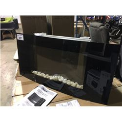 PARAMOUNT LARGE CURVED WALL MOUNT ELECTRIC FIREPLACE