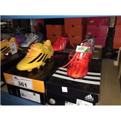 LOT OF ASSORTED SOCCER CLEATS - SIZE 9 US