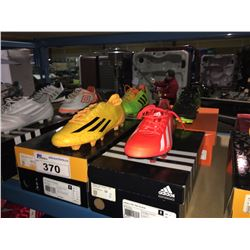 LOT OF ASSORTED SOCCER CLEATS - SIZE 8 US