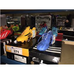 LOT OF ASSORTED SOCCER CLEATS - SIZE 8.5/8 US
