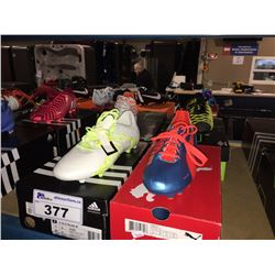 LOT OF ASSORTED SOCCER CLEATS - SIZE 7.5/7 US