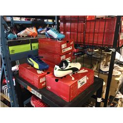 LOT OF ASSORTED SOCCER CLEATS - SIZE 6