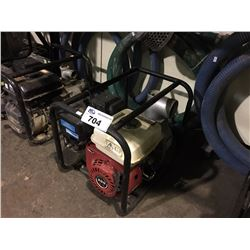 RED 6.5 HP GAS TRASH PUMP