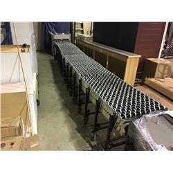 14 SECTION BEST FLEX MOBILE COLLAPSIBLE ROLLING CONVEYOR