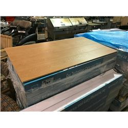PALLET OF EUROPEAN OAK LAMINATE FLOORING