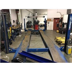 ROTARY LIFT 12000 LB CAPACITY 4 POST AUTOMOTIVE LIFT