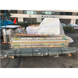 SAFTEY BASKET AND 6 SCAFFOLDING WALK BOARDS