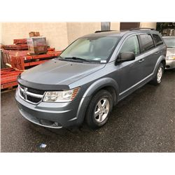 2009 DODGE JOURNEY, 4 DOOR SUV, BLUE, VIN # 3D4GG47B29T569251