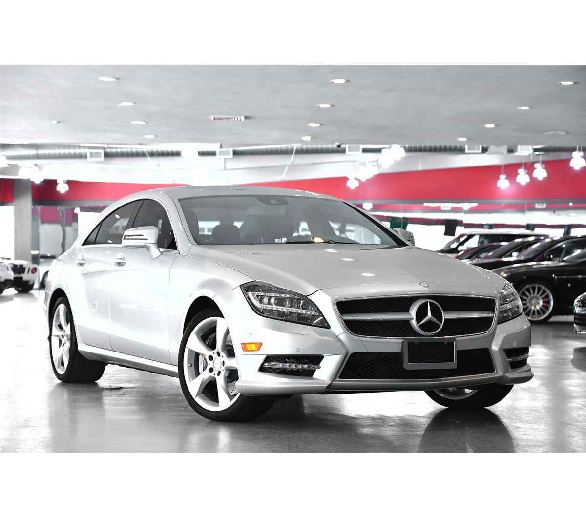 2013 silver mercedes benz cls class cls550 coupe. Black Bedroom Furniture Sets. Home Design Ideas