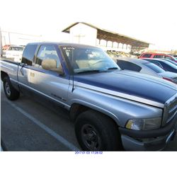 1998 - DODGE 1500// REBUILT SALVAGE