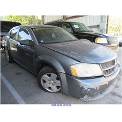 2008 - DODGE AVENGER // REBUILT SALVAGE