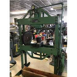 75 Ton KR WILSON H Frame Hyd Shop Press